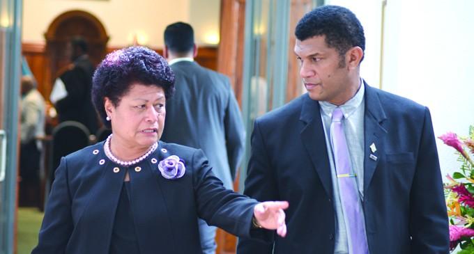 Members Of Parliament Heap Praise On Peacekeeper