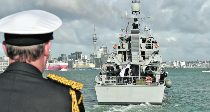 HMNZS Taupo Heads For Fiji to Conduct Maritime Patrols