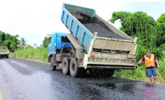 Completion Of Upgrade On Nabouwlau Road Will Ease Traffic