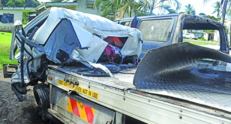 Two Hospitalised After Early Morning Accident