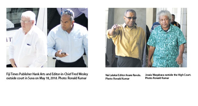 Judge's Verdict On Fiji Times Case On Tuesday, Assessors Opinion Not Guilty