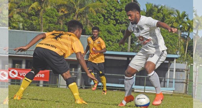 Action from the Suva and Tavua match.Photo: Ronald Kumar