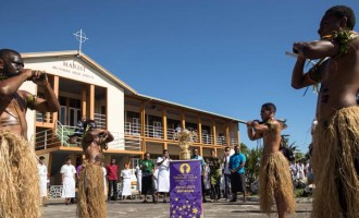 Webb Ellis Departs Fiji