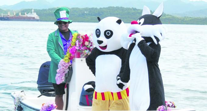 Priest Blesses RSYC Boats, Sailors as Season Starts
