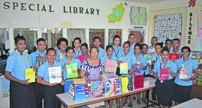 Nursing College Blessed With Donation Of Medical Books