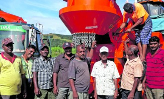 Labasa Cane Farmers invest in Cane Harvester