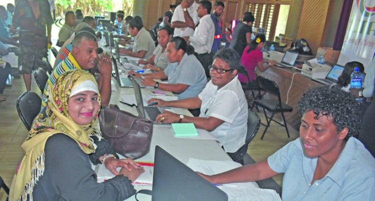 Fijians Flock To Girmit Centre For Taxi Permit