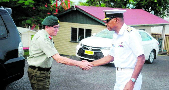 Naupoto Gets Courtesy Visit From NZDF Commander