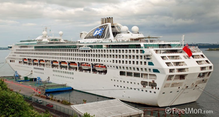 Sea Princess Causes Hype In Suva