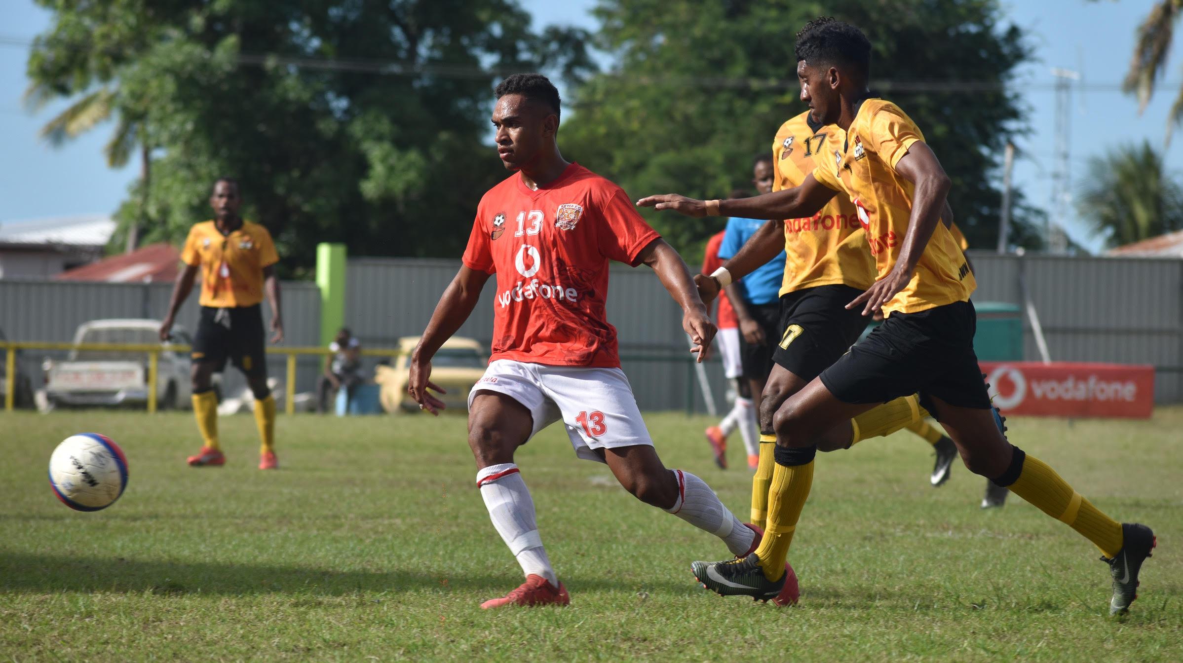 Action from the Rewa- Tavua match.Photo: Waisea Nasokia