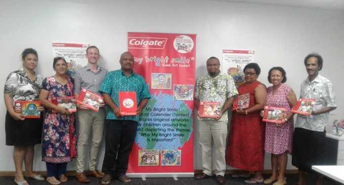 Colgate Rep Amazed at Students' Talents