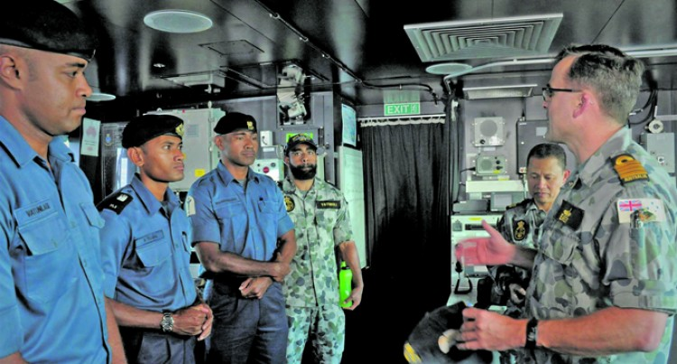 Seven Fijian 'Sea Riders' Head For RIMPAC Onboard HMAS Adelaide