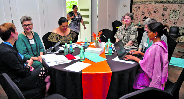 Burchell Officiates At The Pacific Libraries Summit