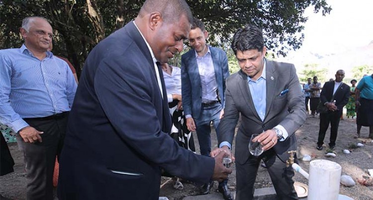 A-G Commissions Borehole For Tobacco Farms