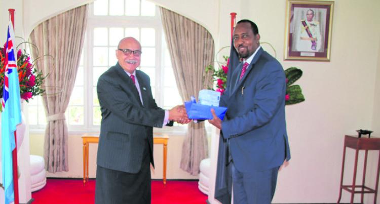 President Farewells UN Resident Rep