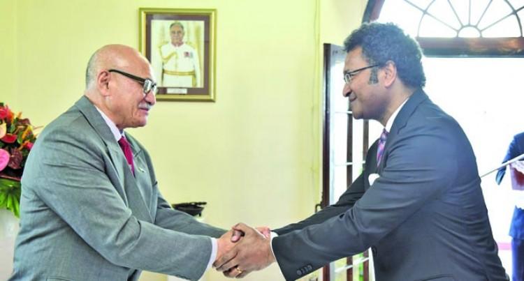 Daunivalu Sworn In As New Envoy To Australia