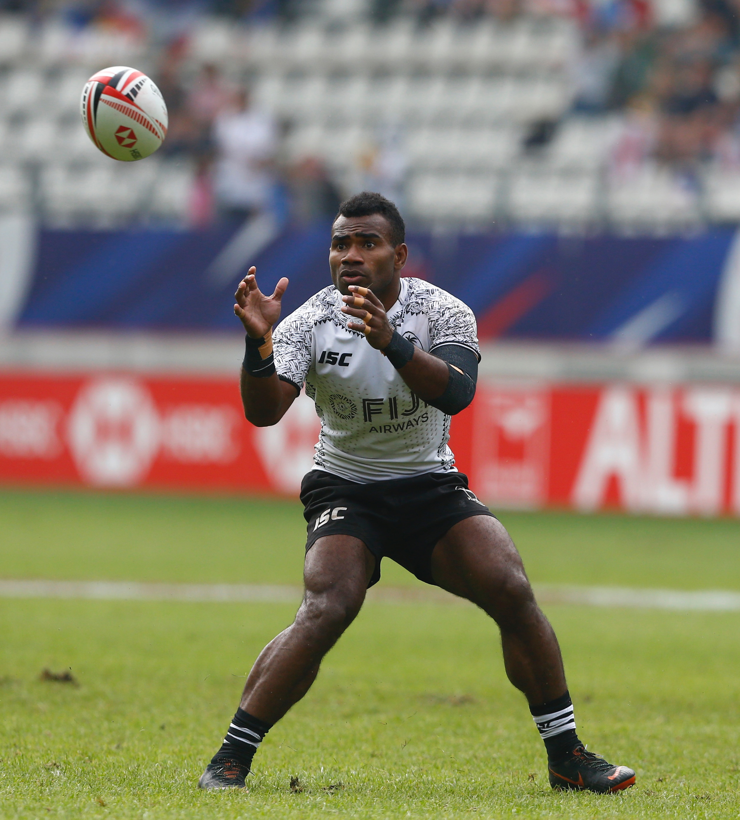 Fiji Airways Fijian  7's  captain Seremaia Tuwai.Photo: Martin Seras Lima