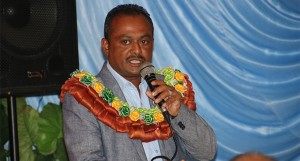 Assistant Minister for Infrastructure & Transport, Vijay Nath speaking at the Fiji Driving School Association Annual General Meeting in Suva on June 23, 2018.  Photo: DEPTFO News
