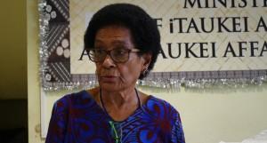 Adi Litia Cakobau at the Ministry of iTaukei Affairs on June 6, 2018. Photos: Ronald Kumar