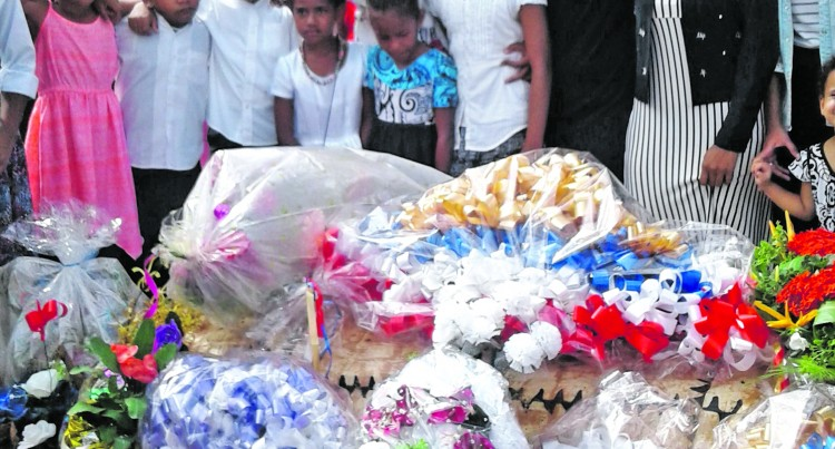Families, Friends and Students Farewell 7-Year-Old Crash Victim