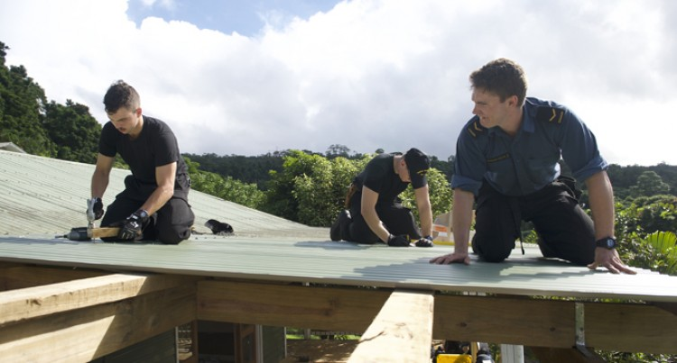 Canadian Navy Officers Renovate Homes Of Hope