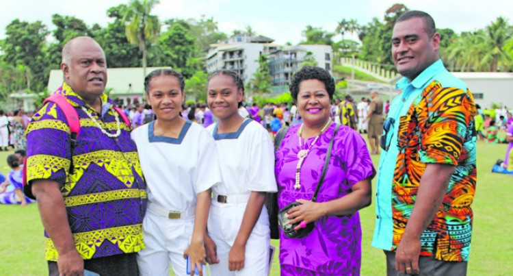 Sisters Proud To Be Part Of School's Historic Event