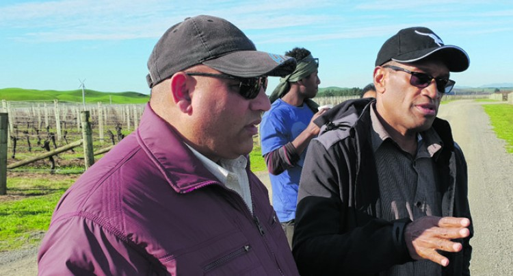 Usamate Visits Fijian Workers In Napier, New Zealand
