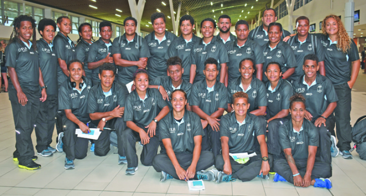 Fijiana XVs Take On Challenge