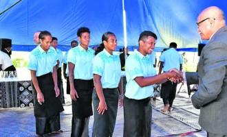 Fijiana Marches Into  Camp