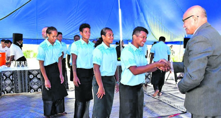 Fijiana Marches Into  Camp