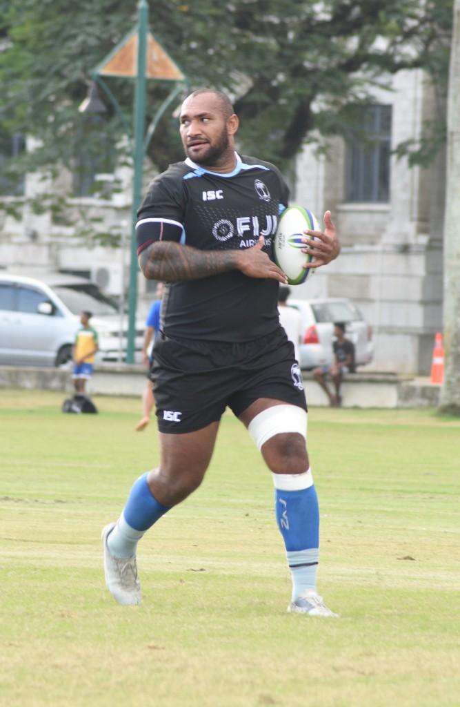 Nemani Nadolo training with the Flying Fijian team on June 11,2018.Photo:Simione Haravanua.