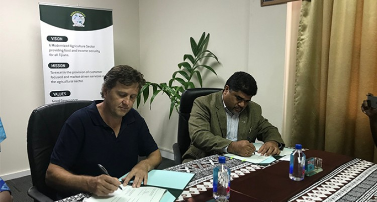 Agriculture Ministry, Biotech Sign MoU