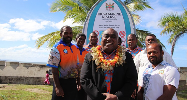 Minister Launches 1st Marine Reserve