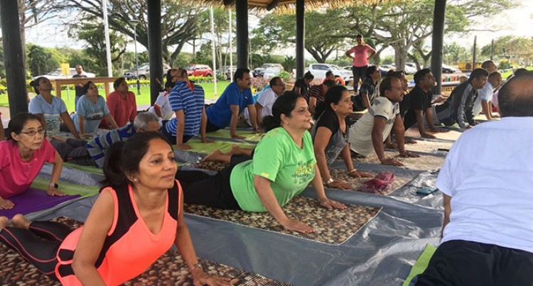 Yoga Sessions Focus On NCDs, Battle Against Diabetes