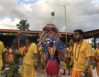 50 Devotees Take Part In Firewalking