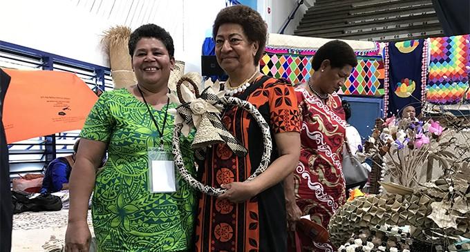 Ro Teimumu Praises Women's Expo