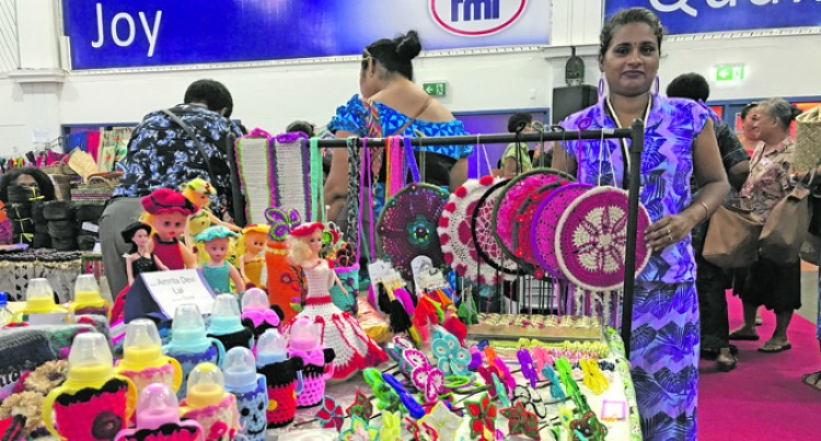 Knitting, A Skill Lost In Time, Says Exhibitor