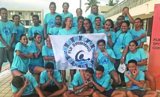 Fiji Swimmers Prepare For PNG Comp