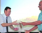 USP Students Meet Fiji Airways Boss Viljoen