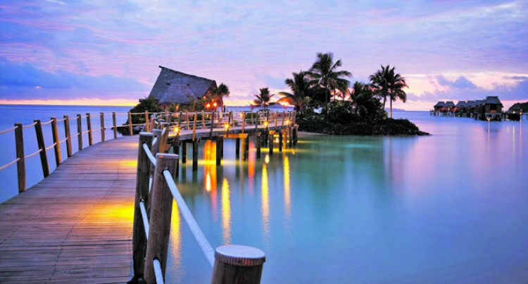 Another Fiji First For  Likuliku Lagoon Resort