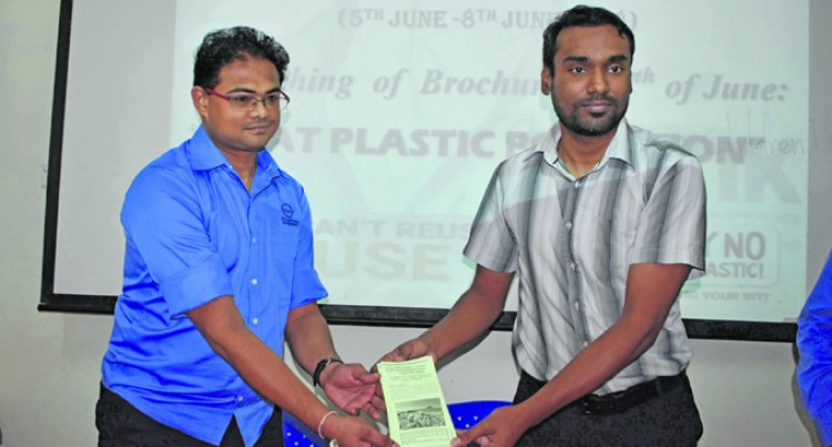 Campus Launches 'Beat  Plastic Pollution' Pamphlet