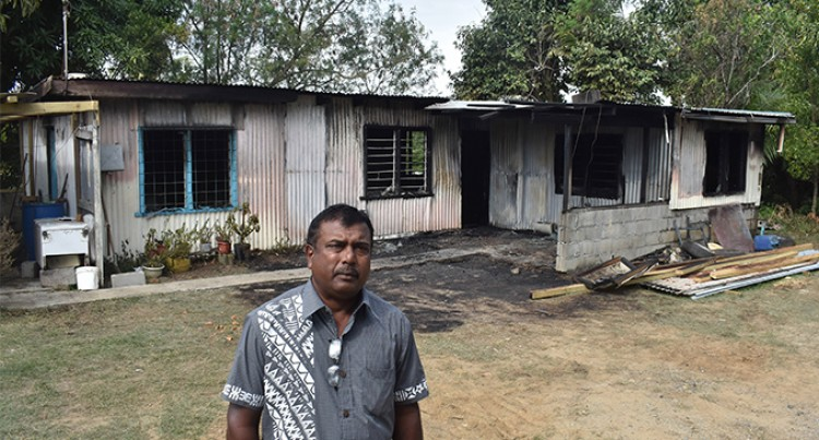 Five Homeless After Nadi Morning Fire Destroys House