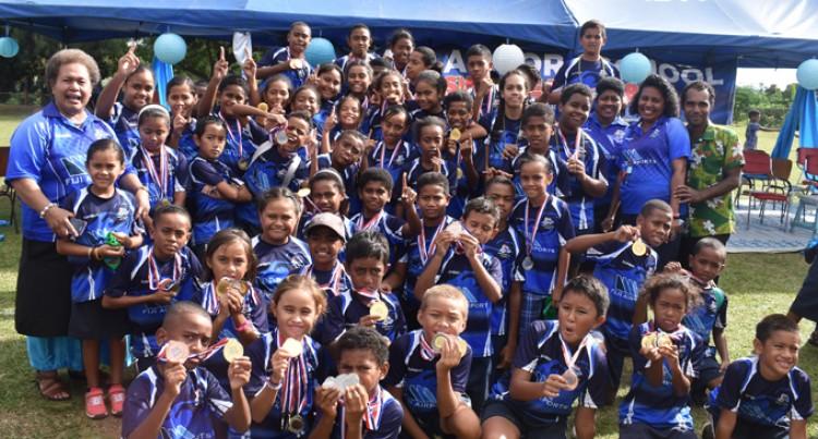Nadi Airport Swimmers Celebrate Success