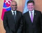 Ambassador Prasad meets president of United Nations General Assembly