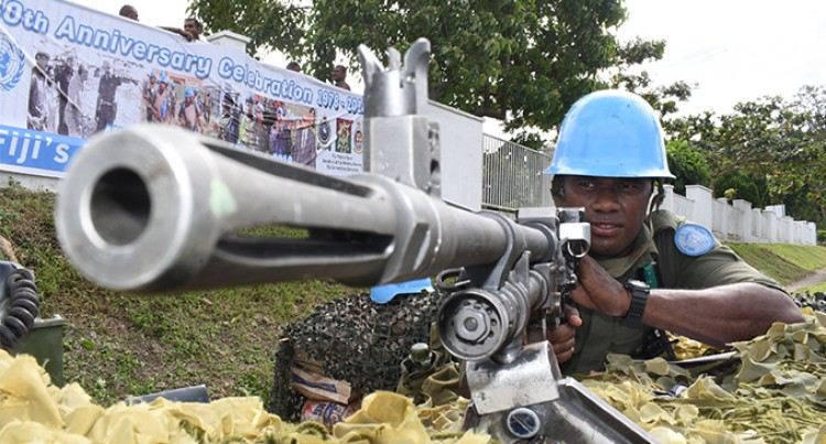 Peacekeepers Give Glimpse Of Life In War-Torn Territories