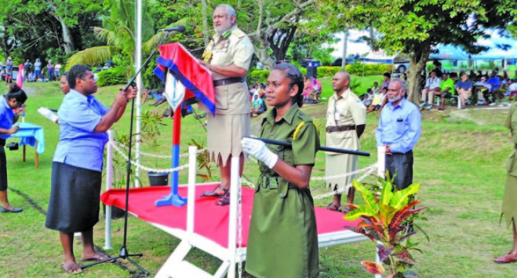 Discipline Foremost, Cadets Reminded