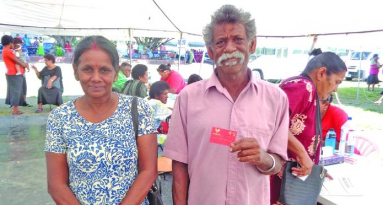 Woman, 86, Says First Time To Receive Such Help