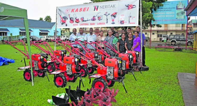 Power Tillers Bring Joy To Farmers