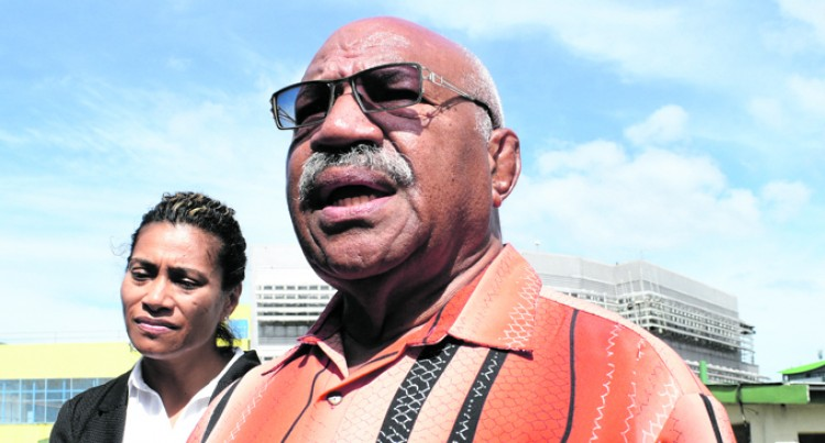 Rabuka: I Will Lead Party After General Election