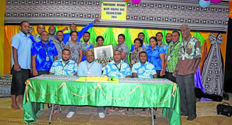 Labasa Branch Staff Members Remember Life of Ratu Sukuna